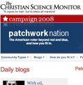 Christian Science Monitor - Patchwork Nation